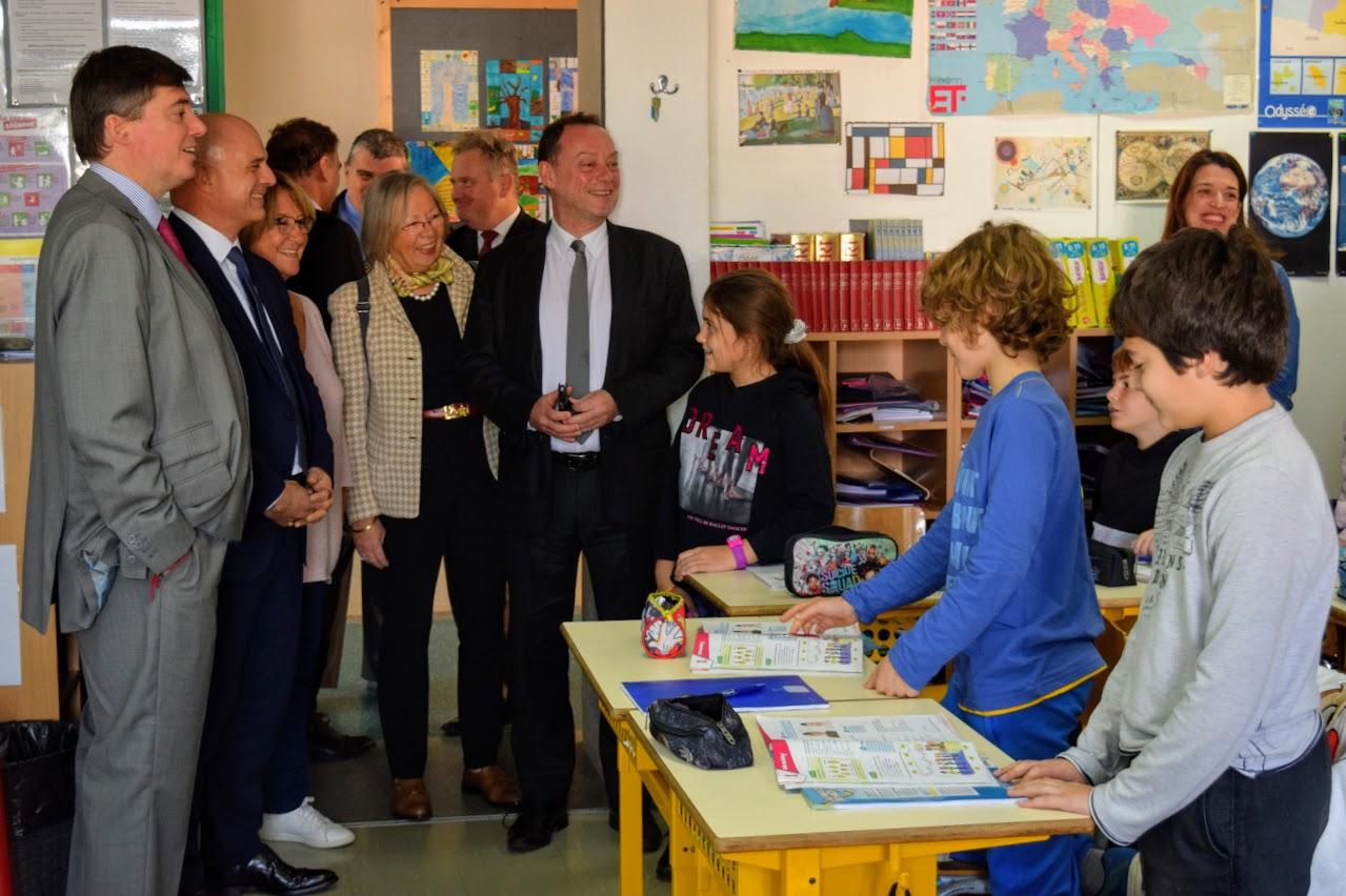 Visite au LFHED de Christophe-André Frassa, Sénateur représentant les Français établis hors de France-4