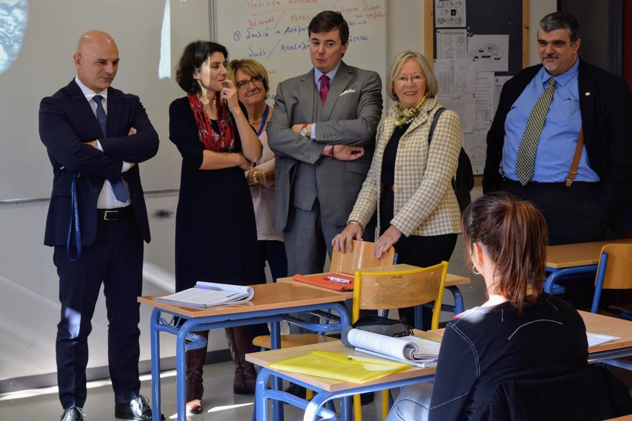 Visite au LFHED de Christophe-André Frassa, Sénateur représentant les Français établis hors de France-7