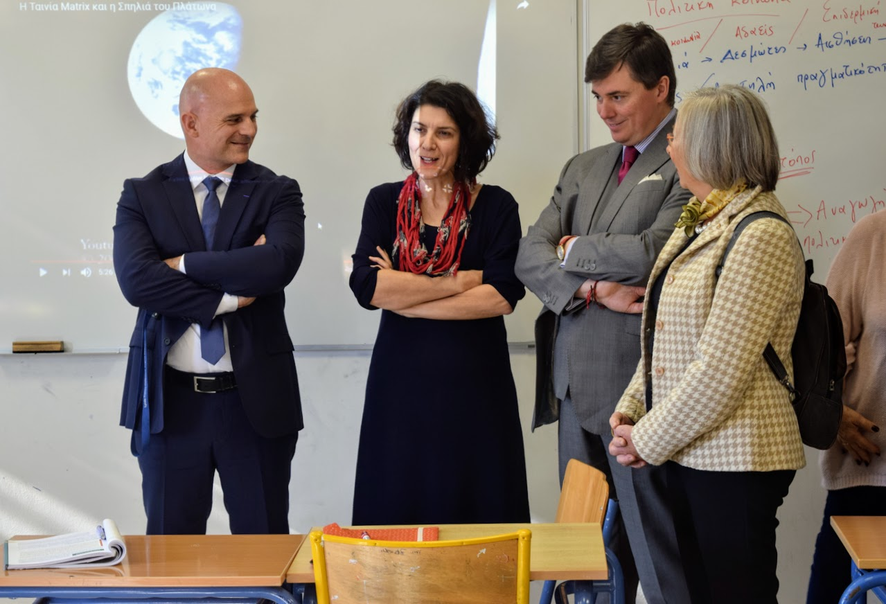 Visite au LFHED de Christophe-André Frassa, Sénateur représentant les Français établis hors de France-8