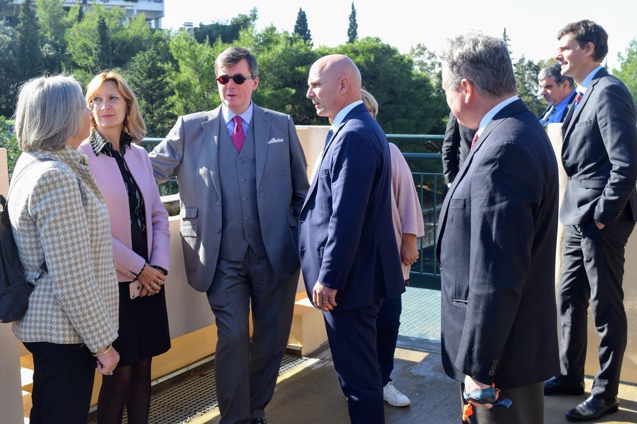 Visite au LFHED de Christophe-André Frassa, Sénateur représentant les Français établis hors de France-11