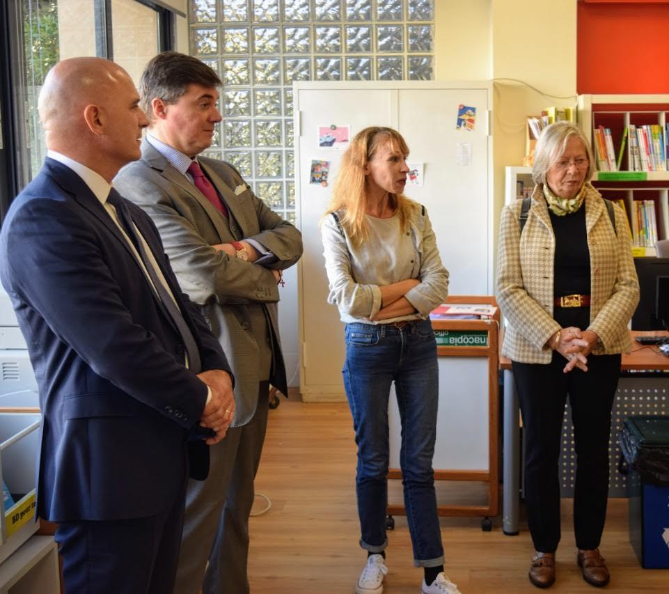 Visite au LFHED de Christophe-André Frassa, Sénateur représentant les Français établis hors de France-10