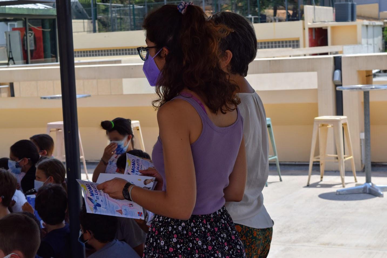 « Momo et Lolotte en Grèce » : nos jeunes élèves écrivains reçoivent la version papier-2