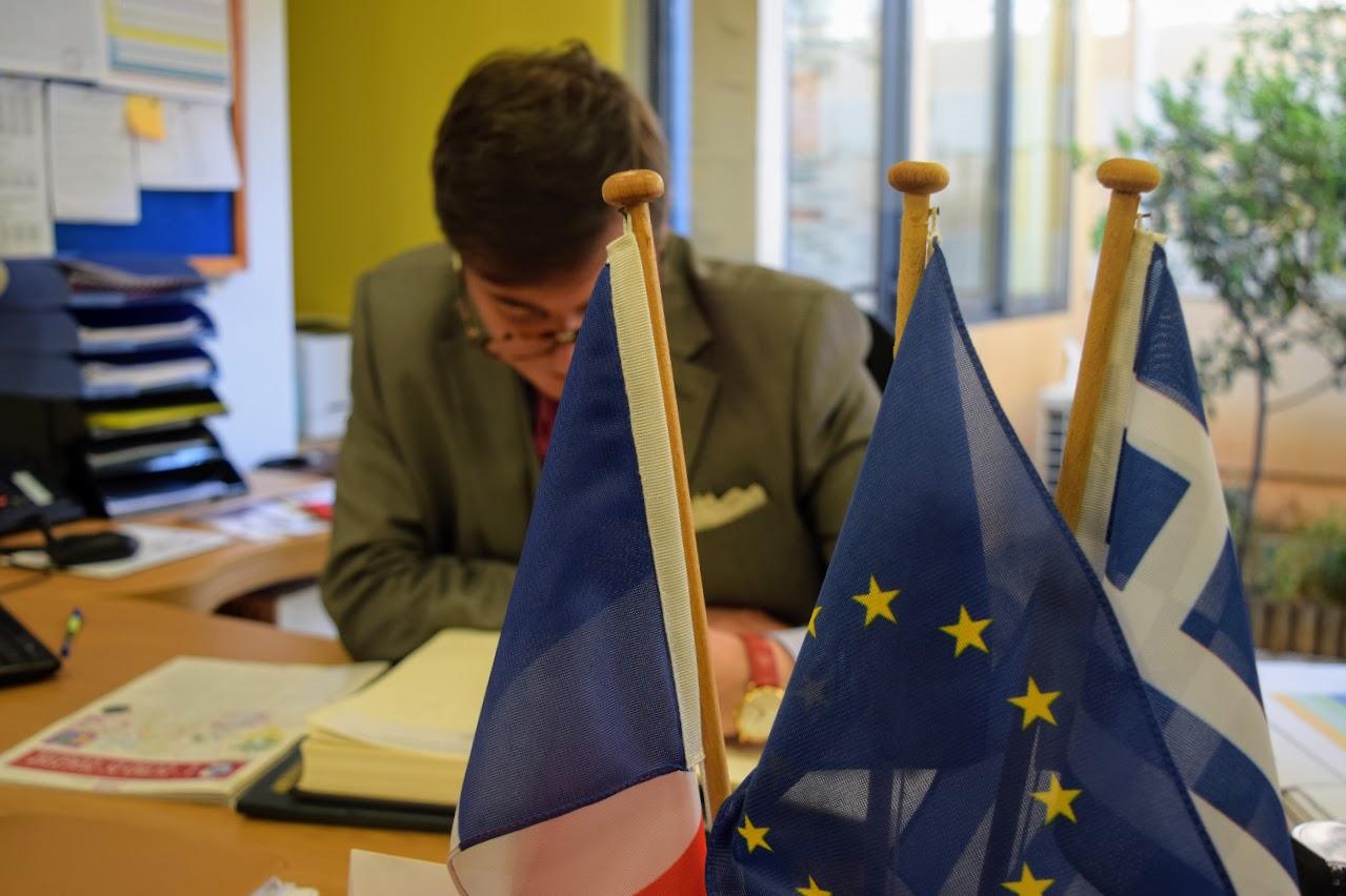 Visite au LFHED de Christophe-André Frassa, Sénateur représentant les Français établis hors de France-16
