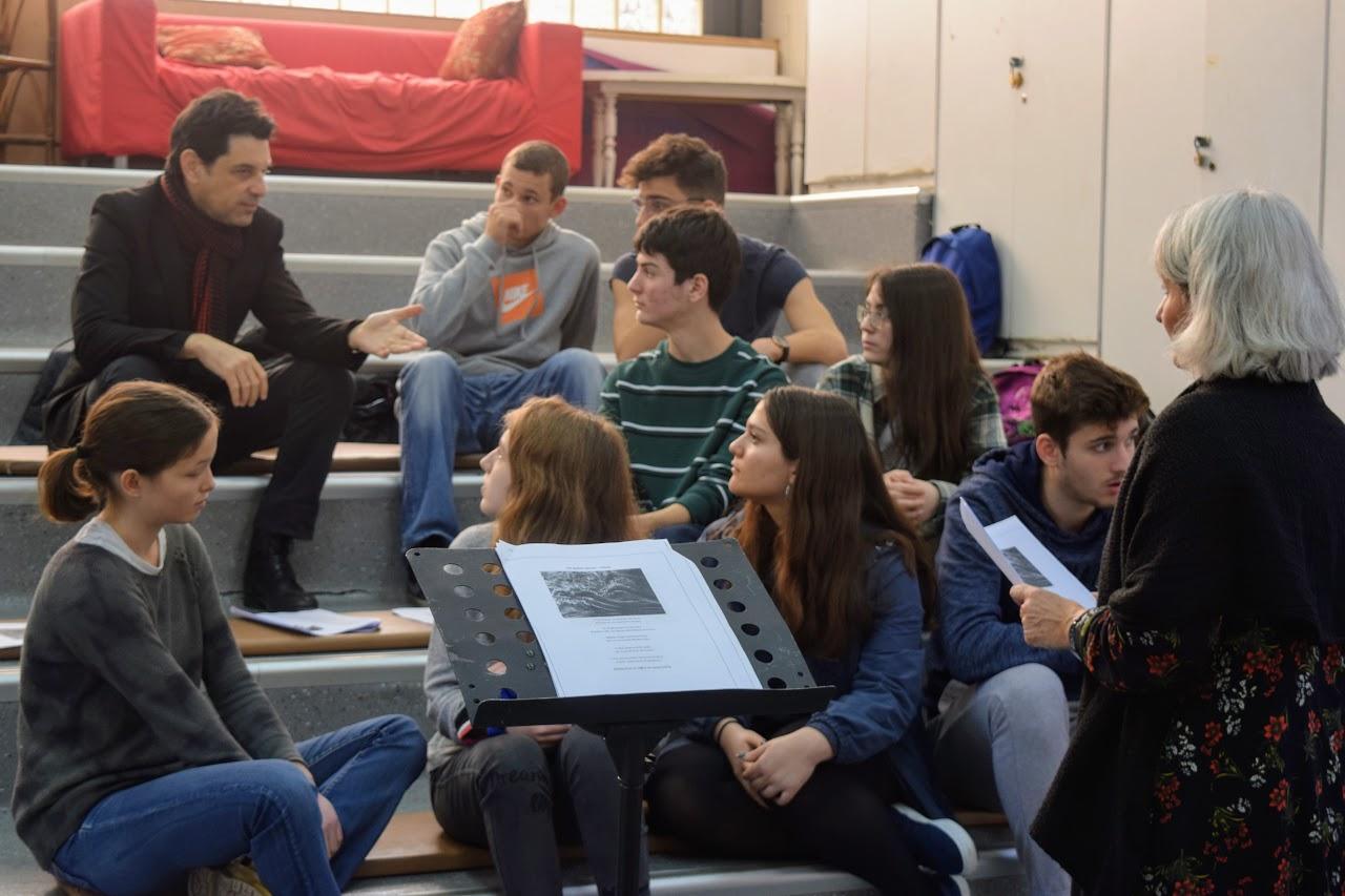 Atelier pédagogique de lecture de textes à voix haute avec Eric Cénat-0