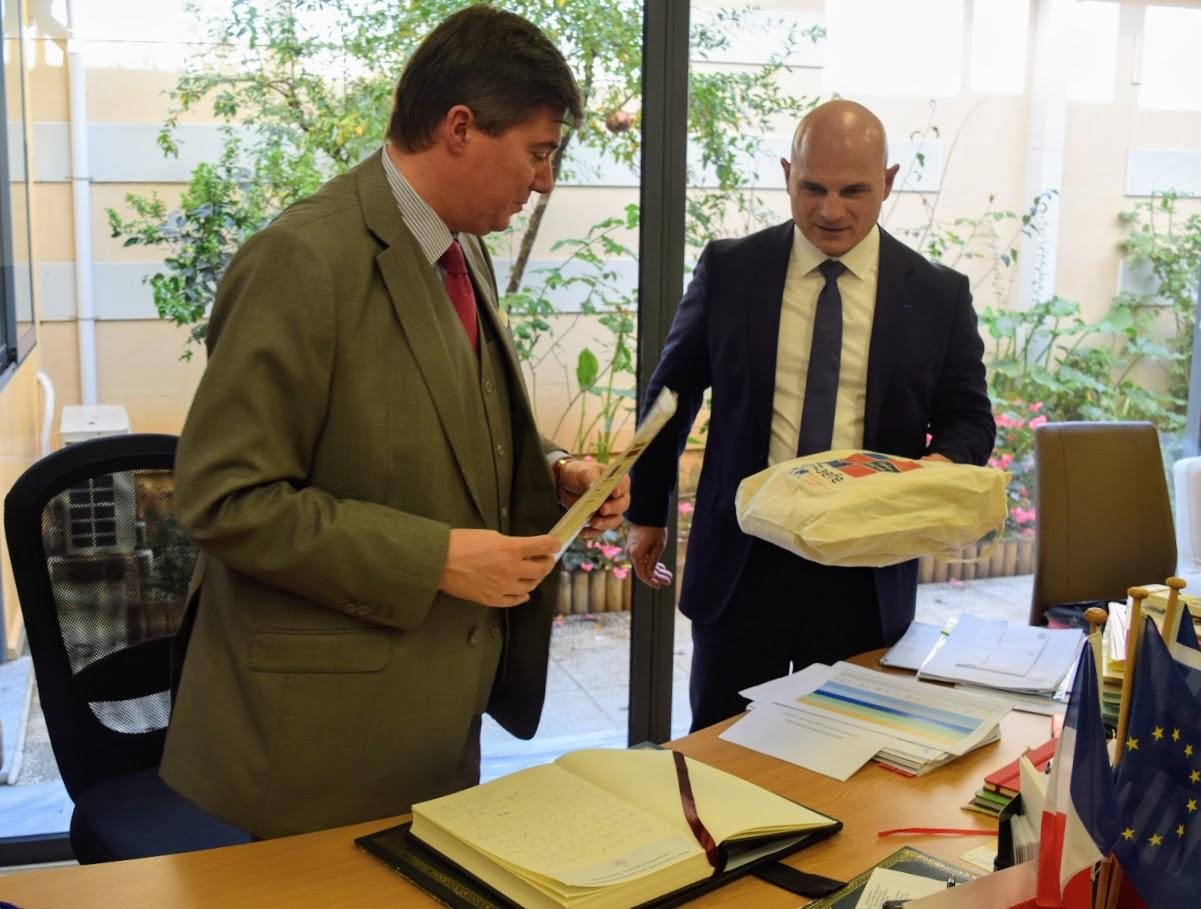 Visite au LFHED de Christophe-André Frassa, Sénateur représentant les Français établis hors de France-15