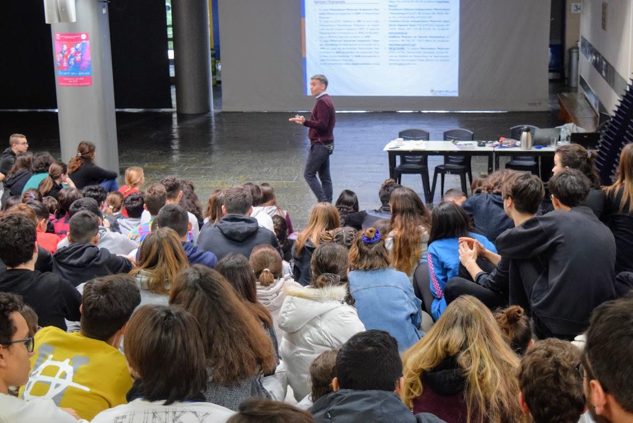 Cette année encore, les conseils en orientation de Spyros Michaloulis à destination de nos élèves-4