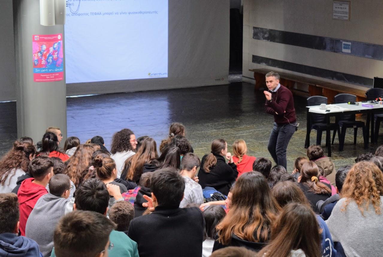 Cette année encore, les conseils en orientation de Spyros Michaloulis à destination de nos élèves-0