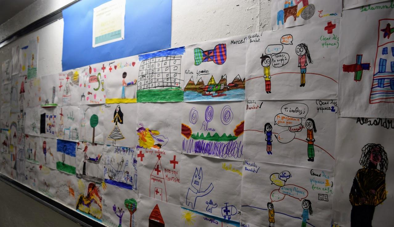L'infirmerie du LFHED expose les dessins de ses petits patients -0