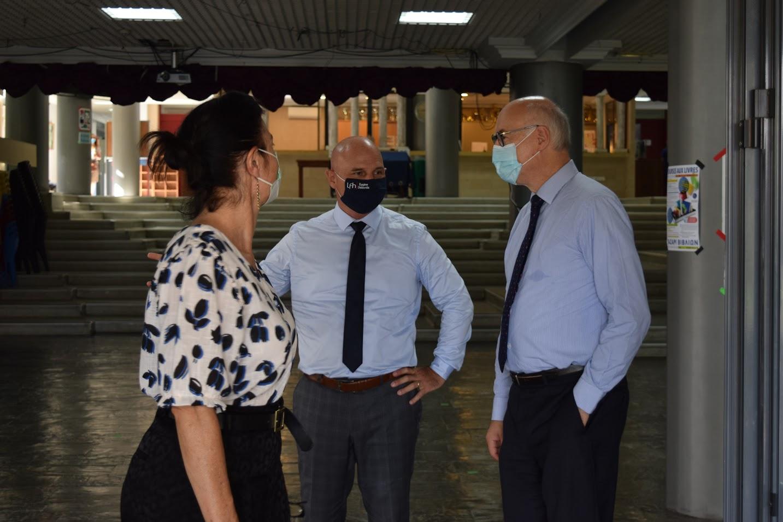 Visite au LFHED de M. Berti, inspecteur du ministère de l'Europe et des Affaires étrangères-9