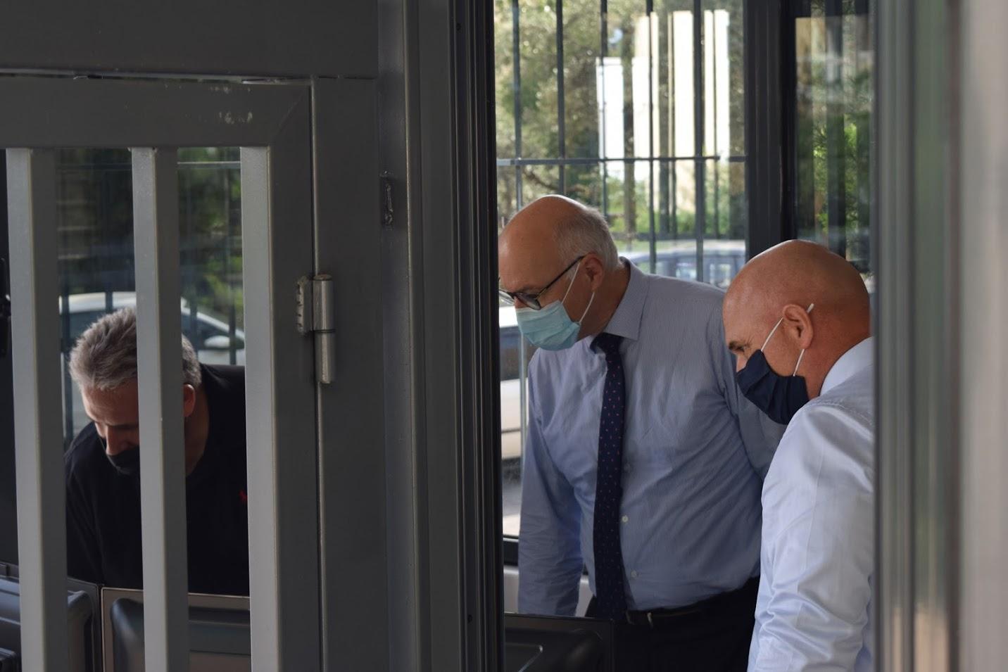 Visite au LFHED de M. Berti, inspecteur du ministère de l'Europe et des Affaires étrangères-10
