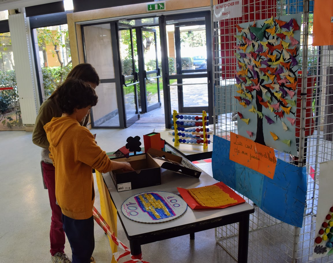 La fête du 100e jour d'école-2