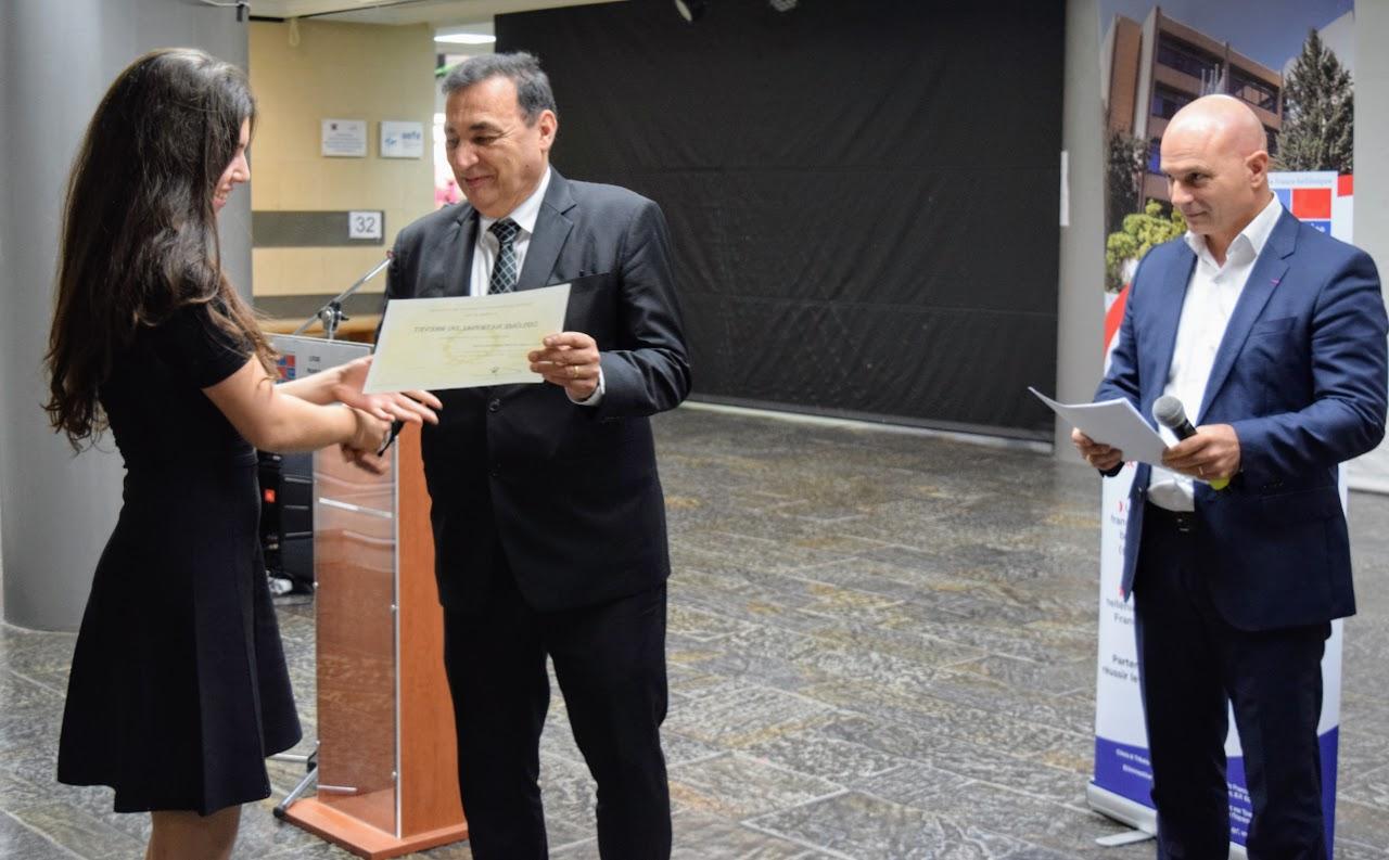 Cérémonie officielle de remise des diplômes du DNB et de l'examen d'anglais IGCSE-6