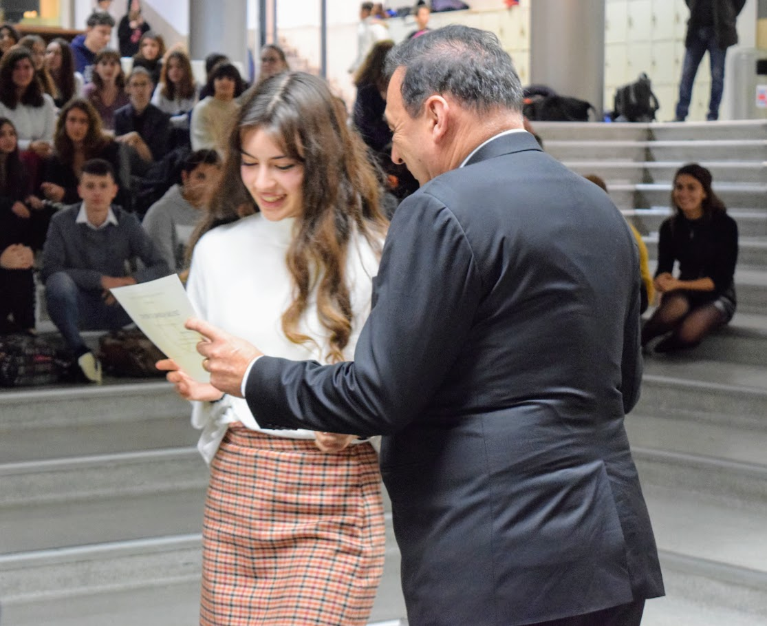 Cérémonie officielle de remise des diplômes du DNB et de l'examen d'anglais IGCSE-7