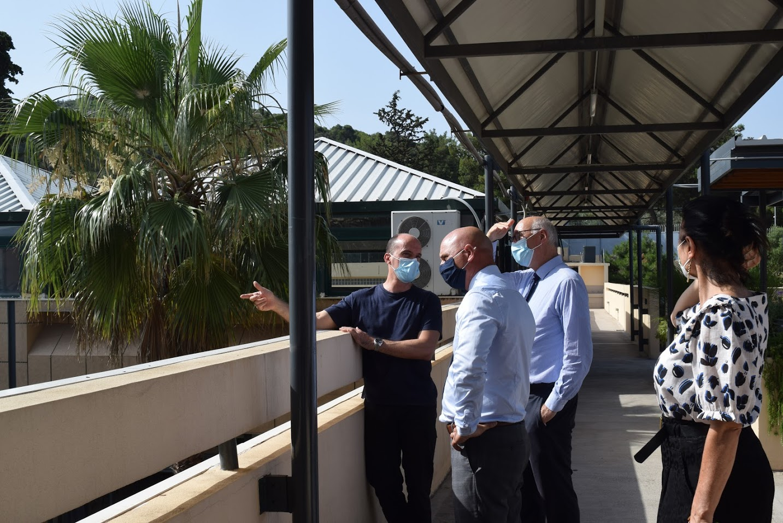 Visite au LFHED de M. Berti, inspecteur du ministère de l'Europe et des Affaires étrangères-3