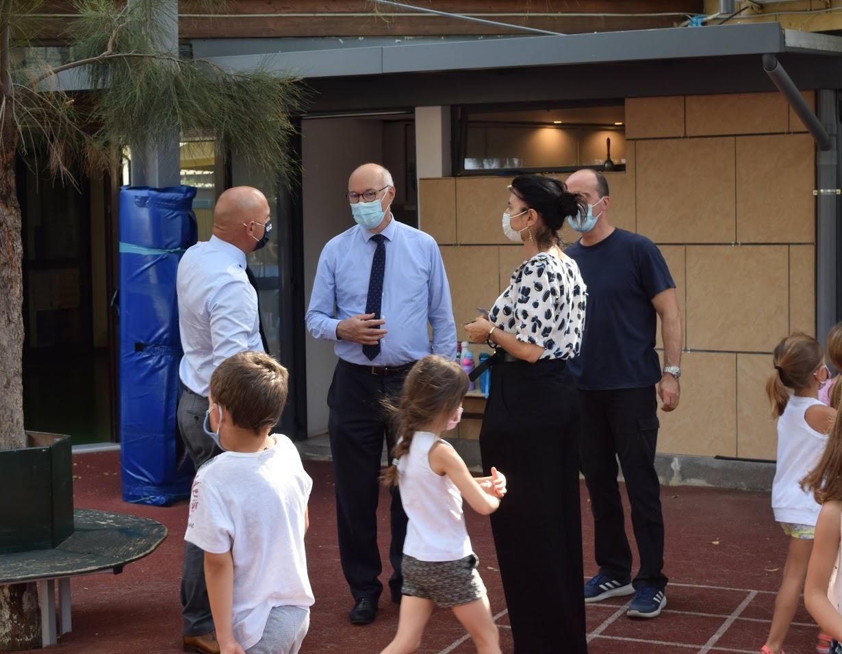 Visite au LFHED de M. Berti, inspecteur du ministère de l'Europe et des Affaires étrangères-5
