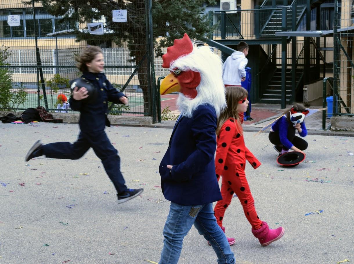 Jeux, danses et mascarades… L'école primaire du LFHED fête le carnaval !-13