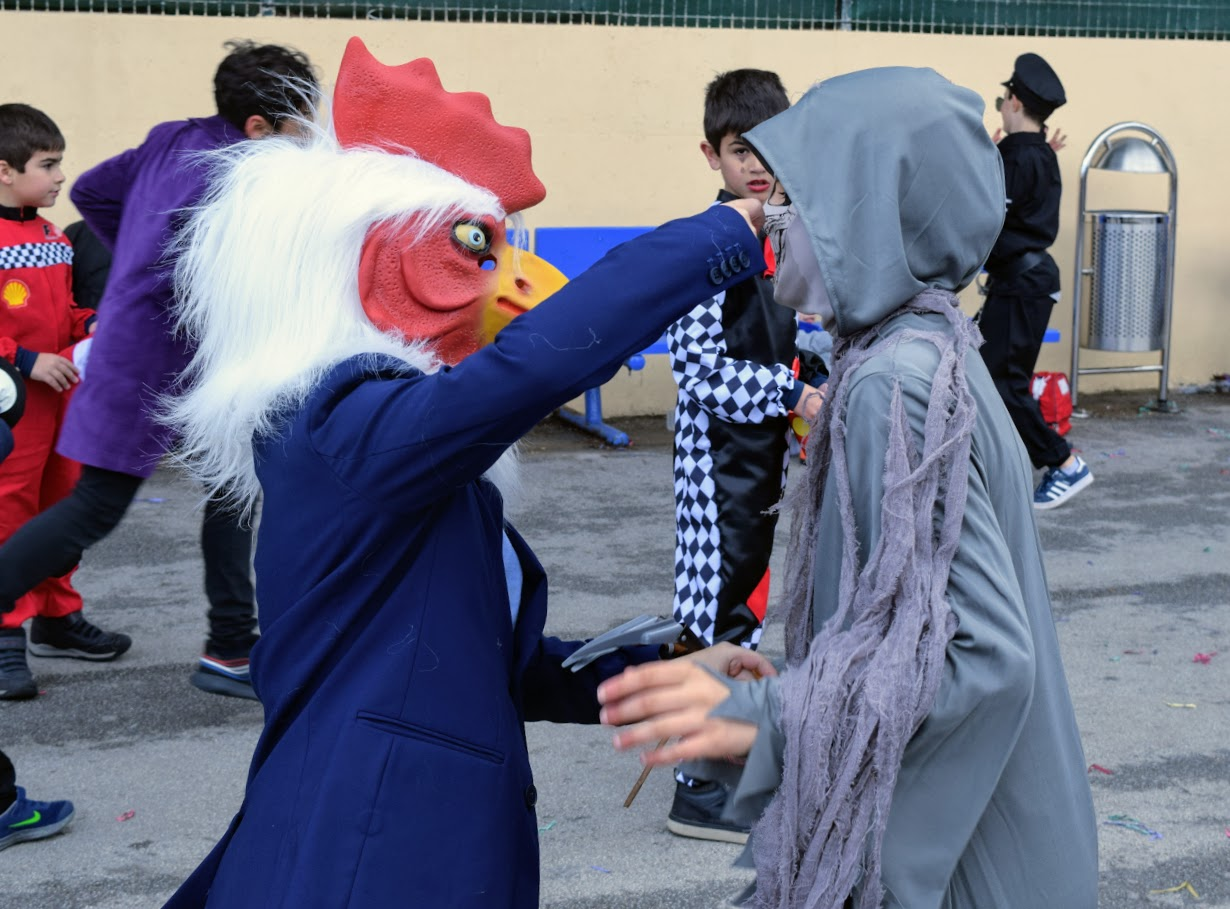 Jeux, danses et mascarades… L'école primaire du LFHED fête le carnaval !-14