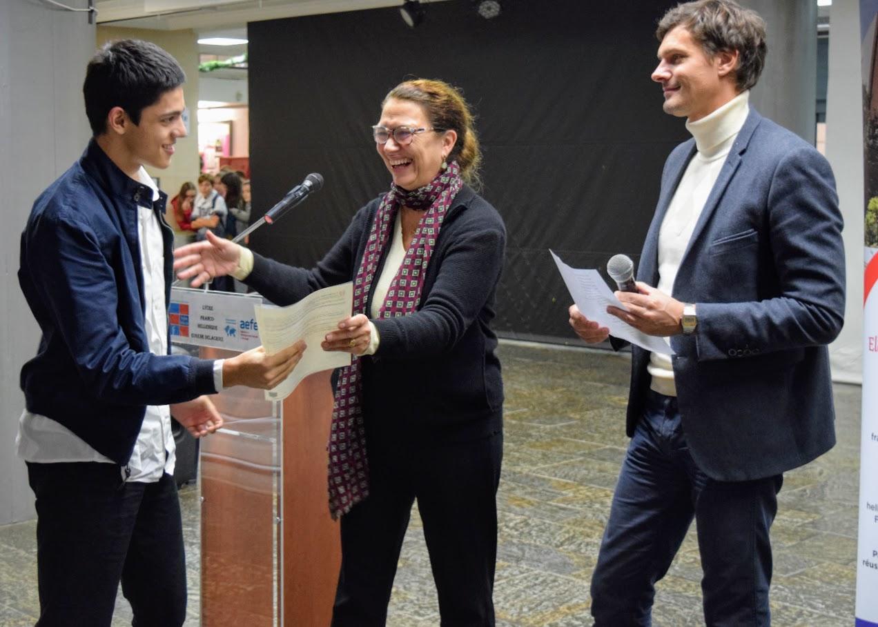 Cérémonie officielle de remise des diplômes du DNB et de l'examen d'anglais IGCSE-47