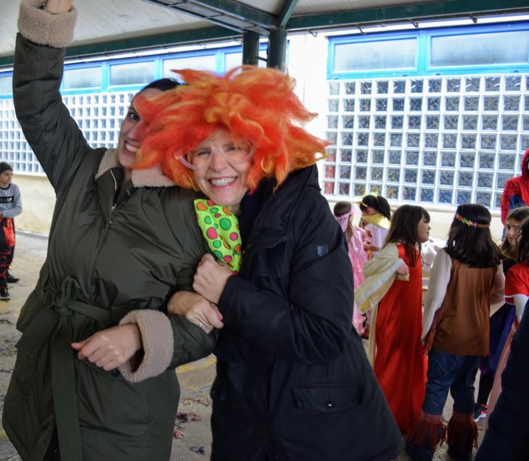 Παιχνίδια, χοροί και μεταμφιέσεις... Το δημοτικό σχολείο του LFHED γιορτάζει το καρναβάλι !-18