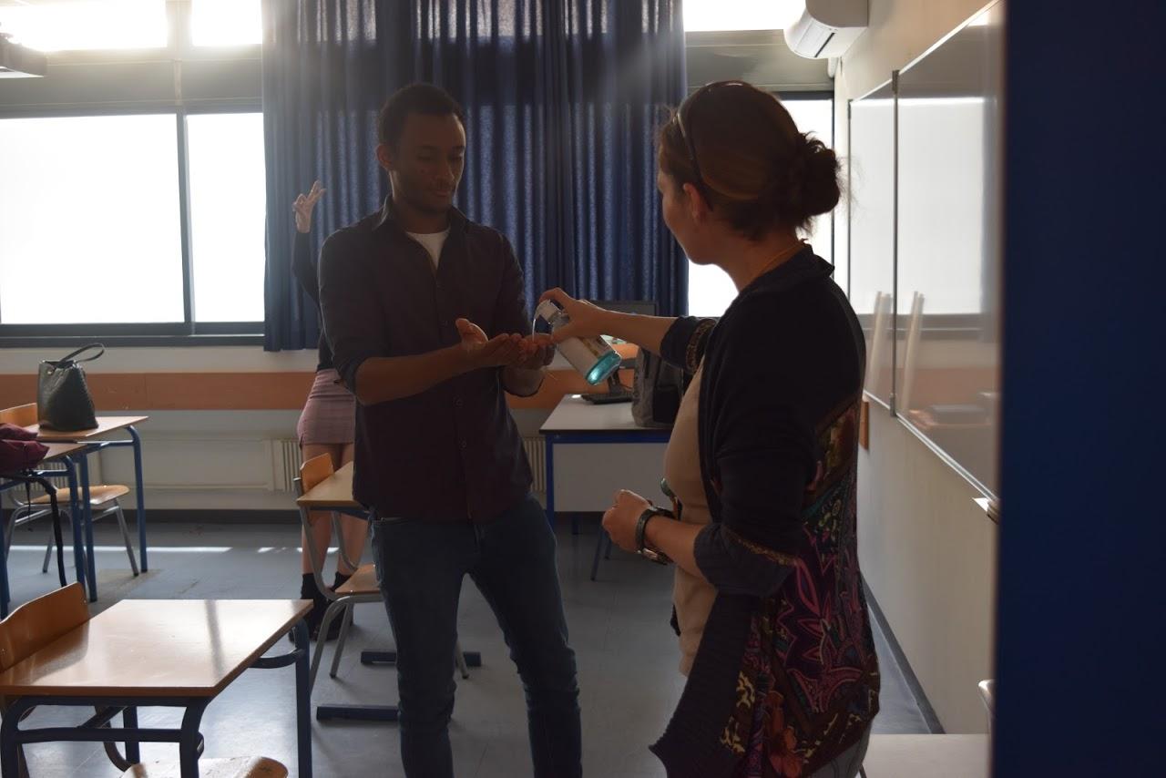 Reprise des cours au LFHED dans le respect des conditions sanitaires-0