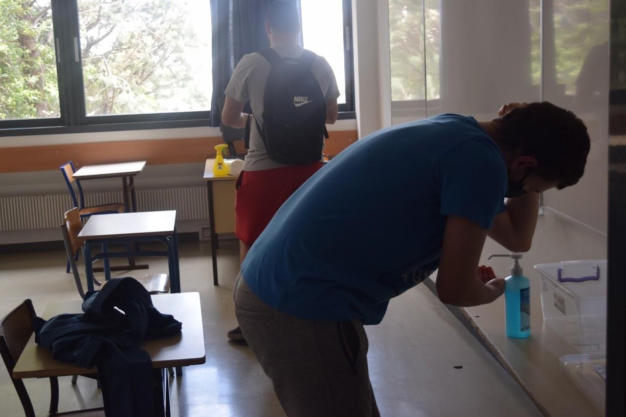 Reprise des cours au LFHED dans le respect des conditions sanitaires-17