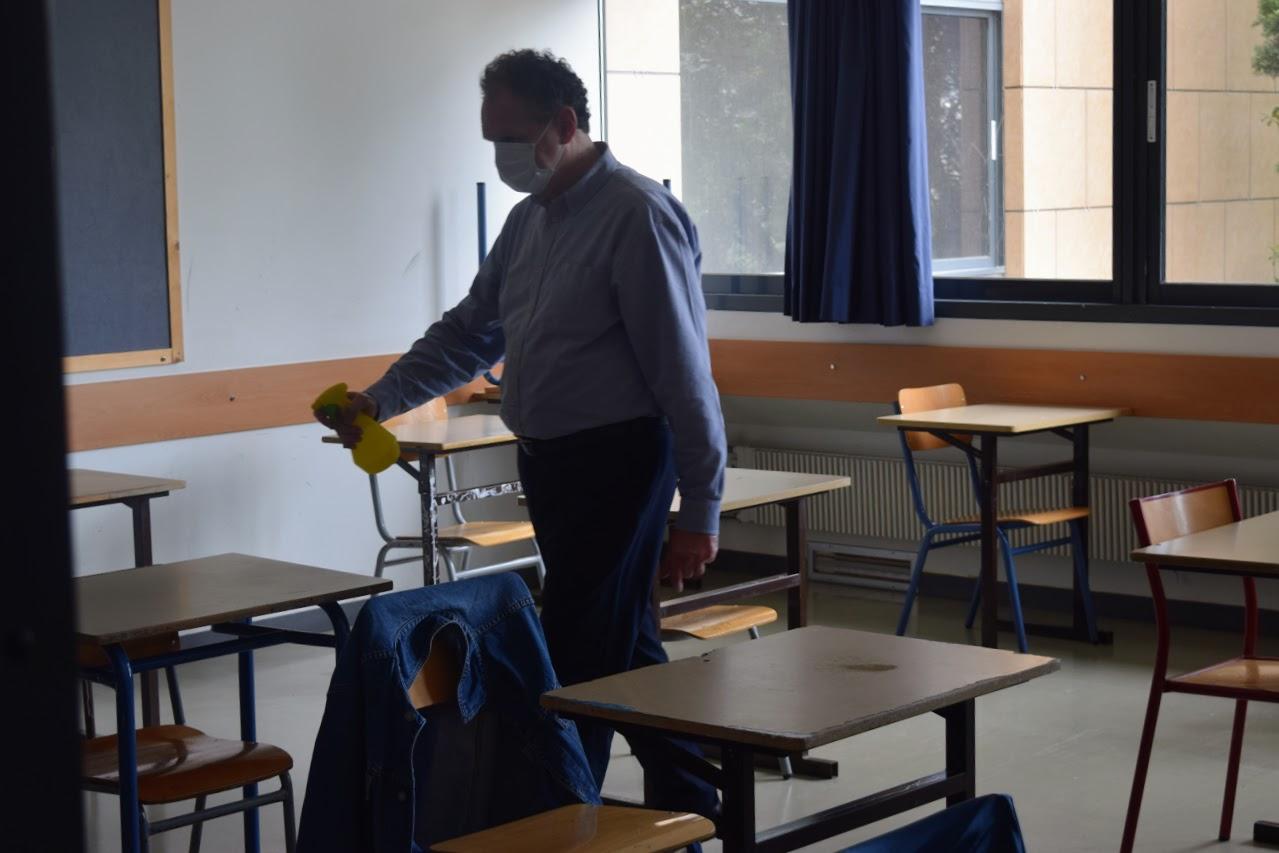 Reprise des cours au LFHED dans le respect des conditions sanitaires-18