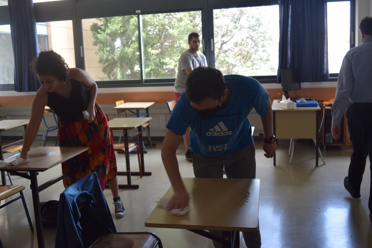 Reprise des cours au LFHED dans le respect des conditions sanitaires-19