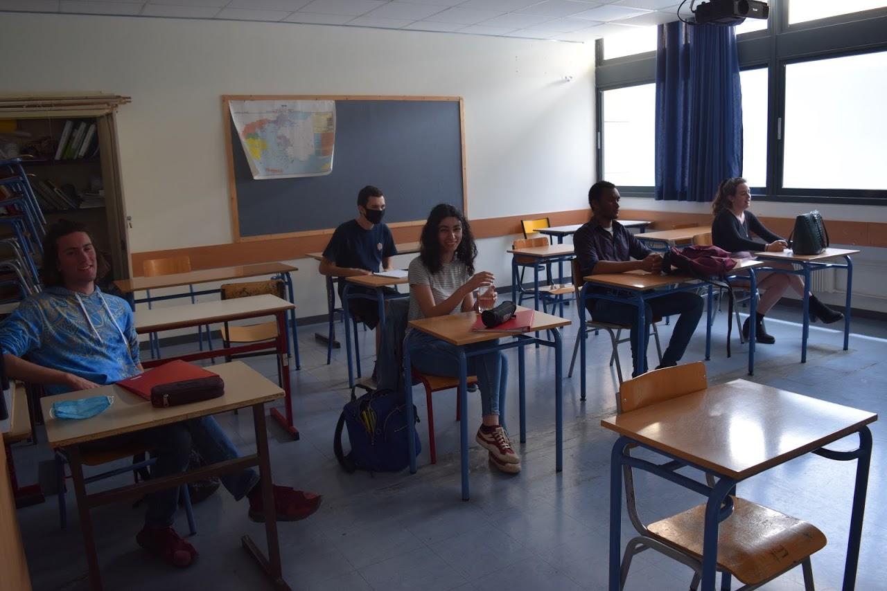 Reprise des cours au LFHED dans le respect des conditions sanitaires-3