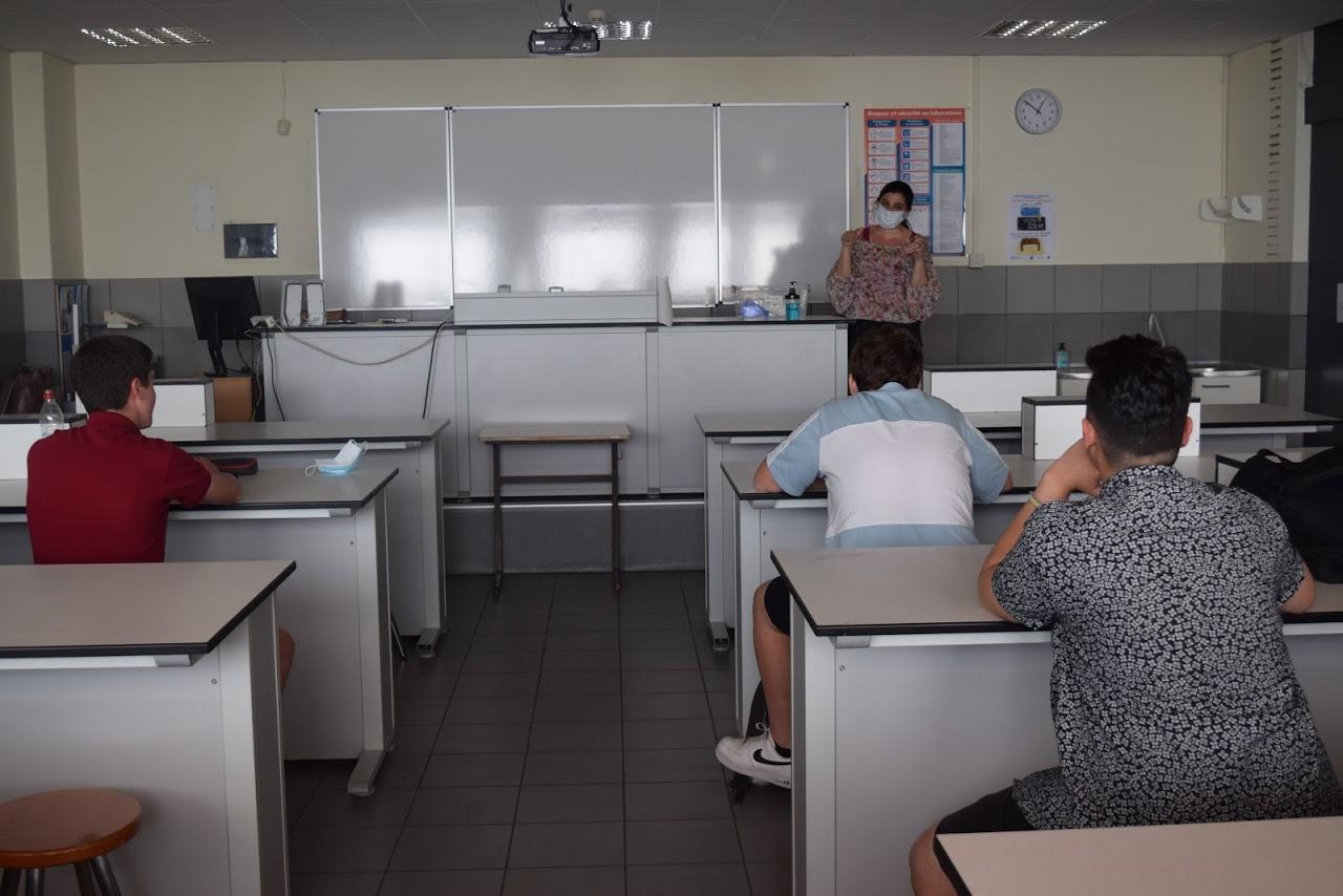 Reprise des cours au LFHED dans le respect des conditions sanitaires-2