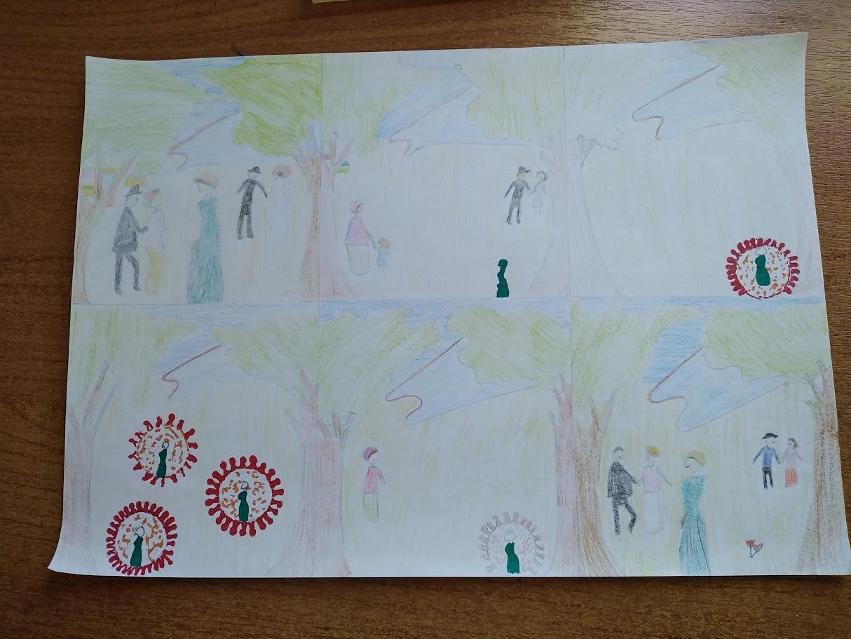 Οι μαθητές της Γ' Γυμνασίου εκφράζονται μέσω της τέχνης κατά τη περίοδο του εγκλεισμού-7