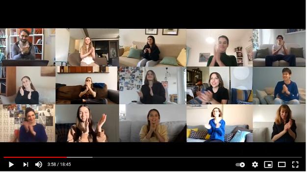 Nos élèves réalisent une vidéo pour le 21e Festival du Film Francophone de Grèce
