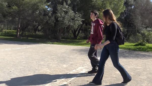 «Η ειρήνη βήμα προς βήμα: Αθήνα »: η ταινία μικρού μήκους των μαθητών ιταλικών επιτέλους με υπότιτλους !-2