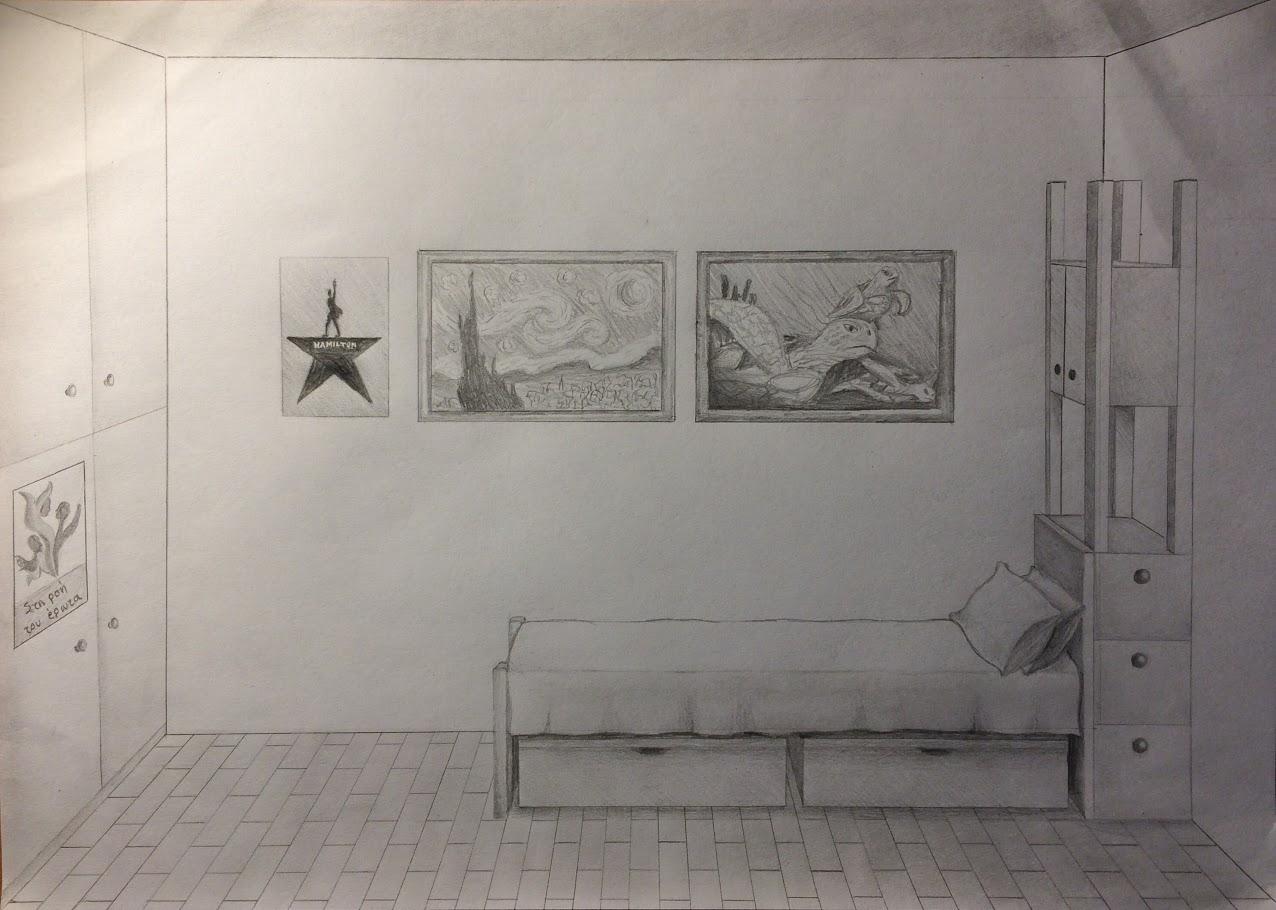 Οι μαθητές της Γ' Γυμνασίου εκφράζονται μέσω της τέχνης κατά τη περίοδο του εγκλεισμού-21