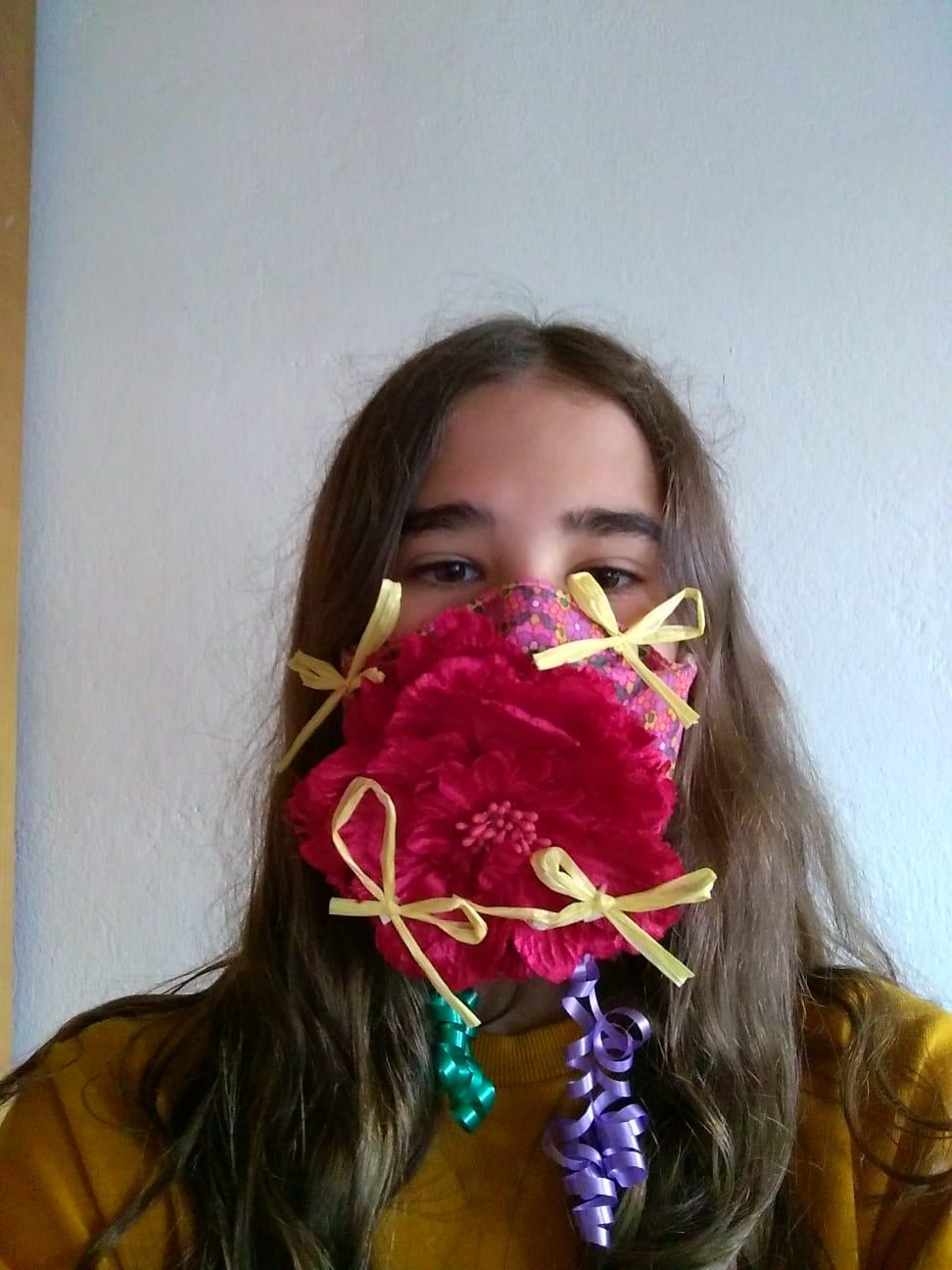 Projet de fabrication de masques en Arts plastiques : « Un masque qui te révèle autant qu'il te protège »-1
