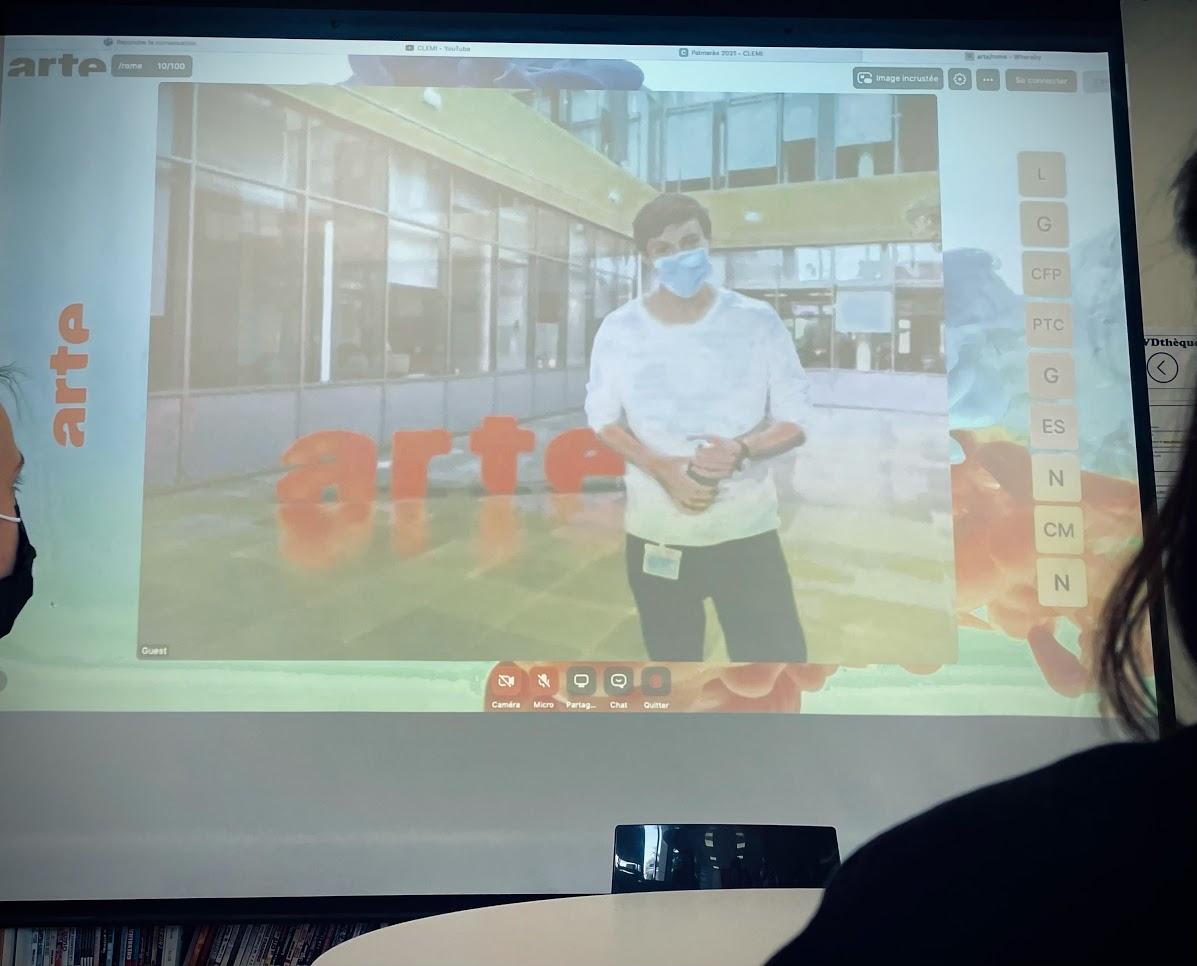 Les élèves du LFHED remportent le 1er prix au concours Reportage Arte-Clemi ! -4