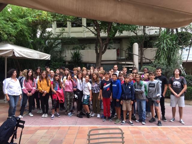 Nos élèves délégués se forment à l'IFG-5