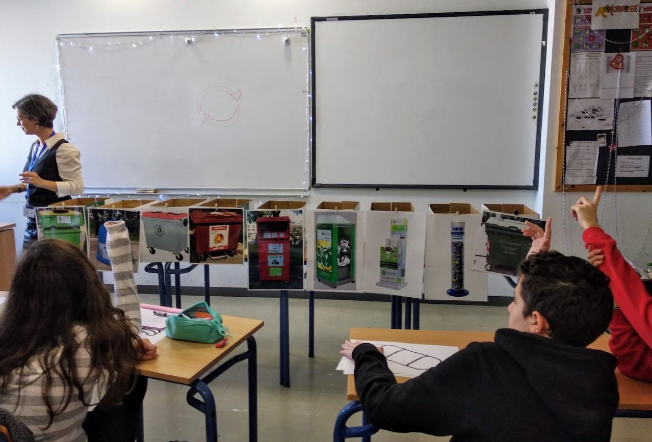 Επίσκεψη του Κινητού Πράσινου Σημείου στο σχολείο μας-3