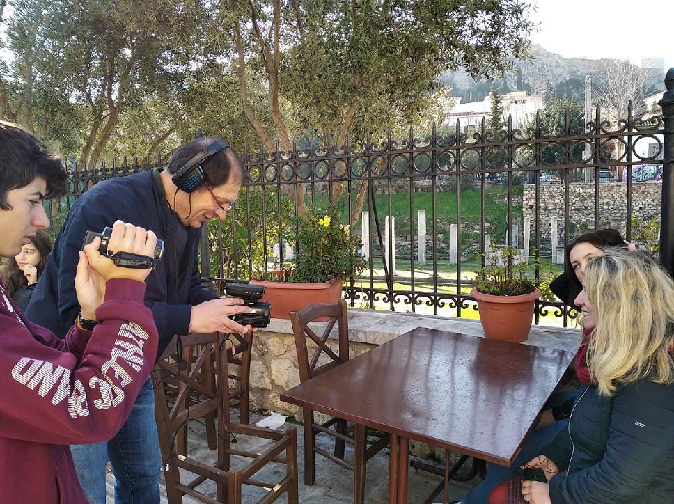«Η ειρήνη βήμα προς βήμα: Αθήνα »: η ταινία μικρού μήκους των μαθητών ιταλικών επιτέλους με υπότιτλους !-0