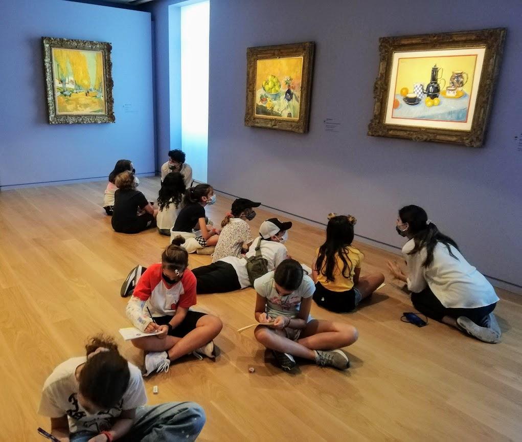 Les classes de CM2 en visite au Musée Goulandri-4