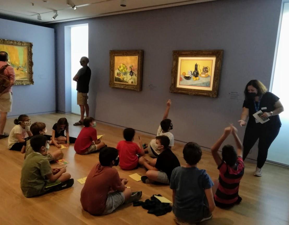 Les classes de CM2 en visite au Musée Goulandri-5