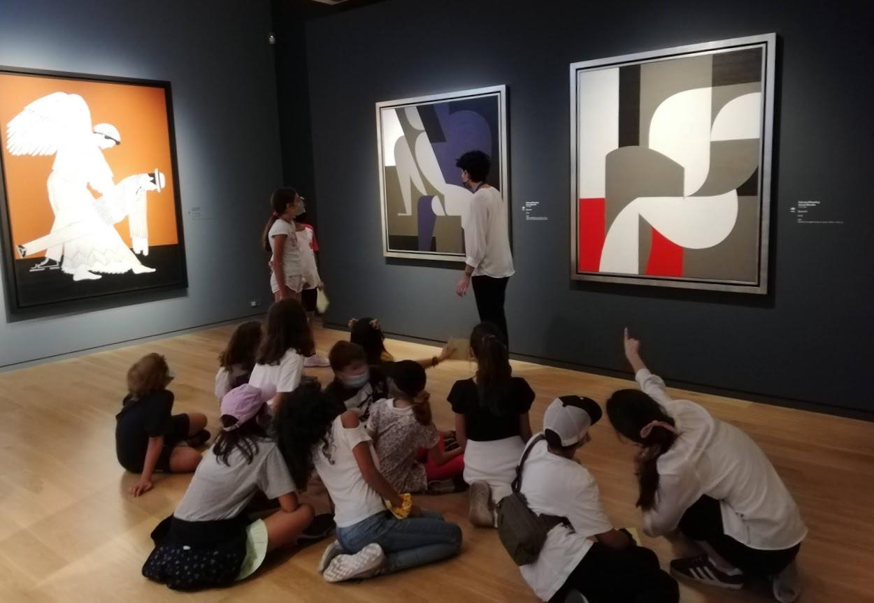 Les classes de CM2 en visite au Musée Goulandri-6