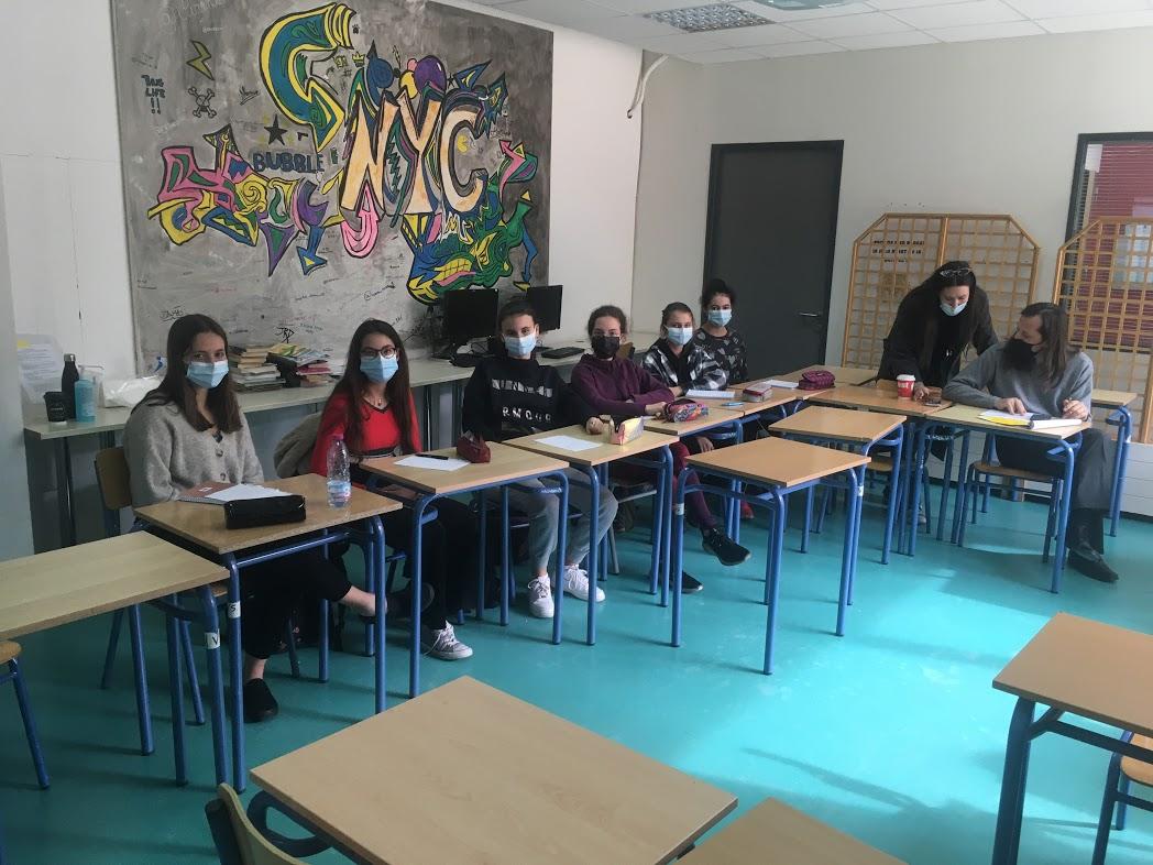 Nos élèves des deux Sections se préparent pour l'Euro Parlement Palma   -3