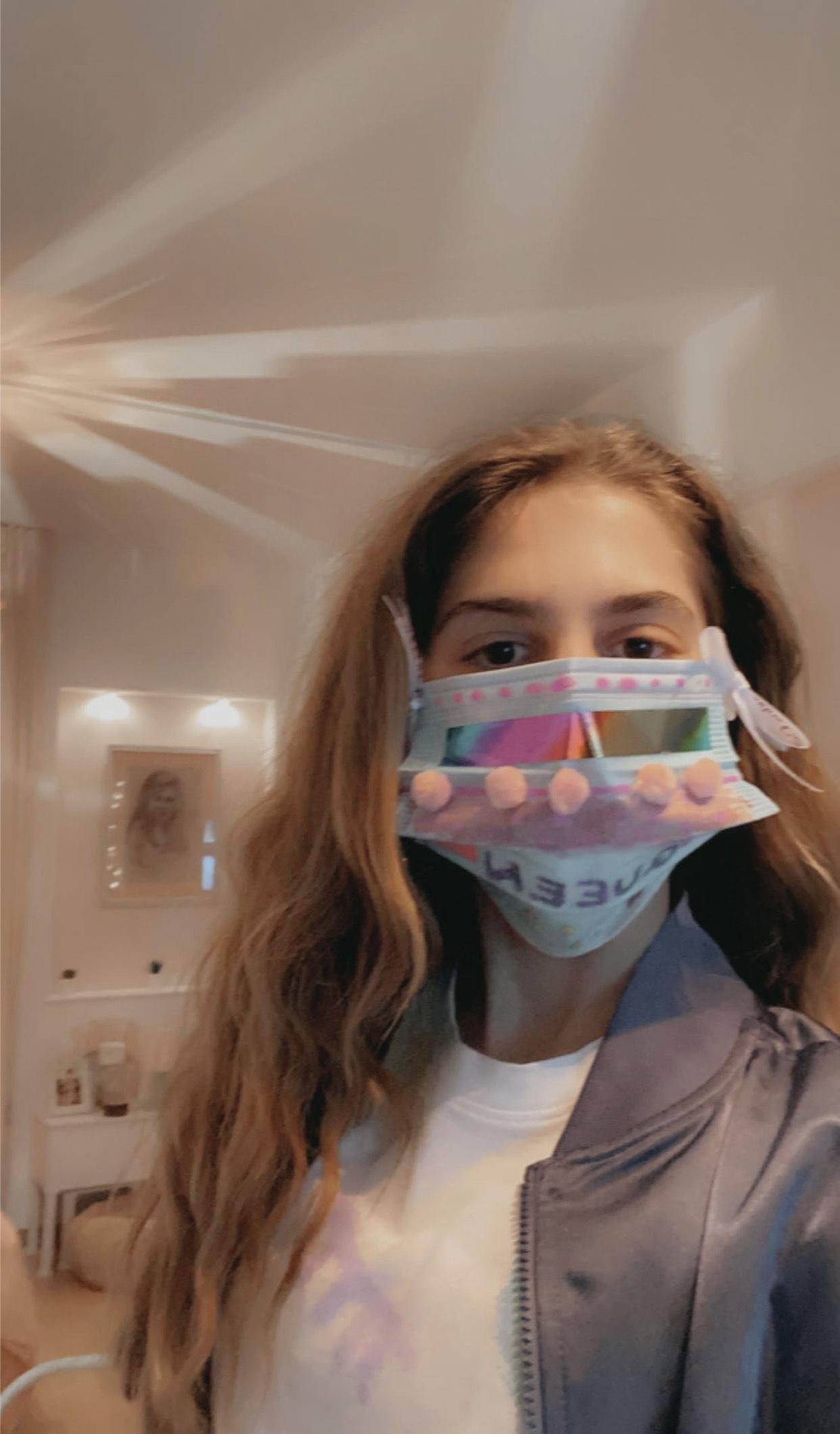 Projet de fabrication de masques en Arts plastiques : « Un masque qui te révèle autant qu'il te protège »-2