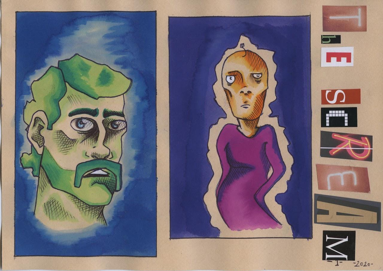 Οι μαθητές της Γ' Γυμνασίου εκφράζονται μέσω της τέχνης κατά τη περίοδο του εγκλεισμού-6