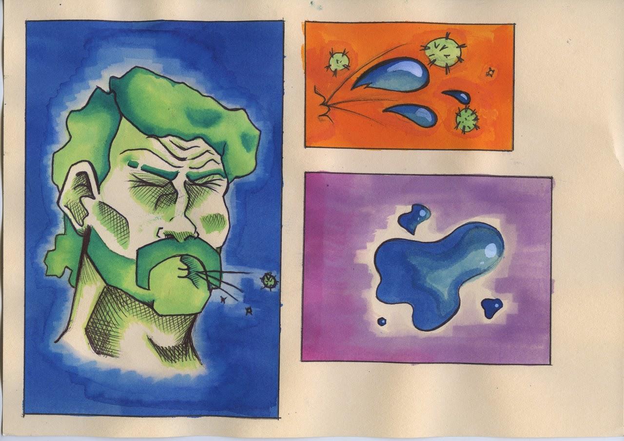 Οι μαθητές της Γ' Γυμνασίου εκφράζονται μέσω της τέχνης κατά τη περίοδο του εγκλεισμού-5