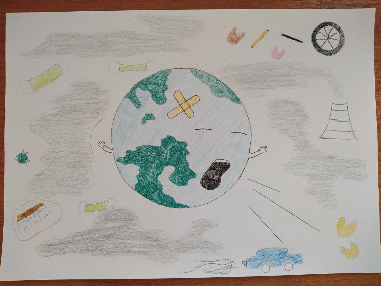 Οι μαθητές της Γ' Γυμνασίου εκφράζονται μέσω της τέχνης κατά τη περίοδο του εγκλεισμού-10