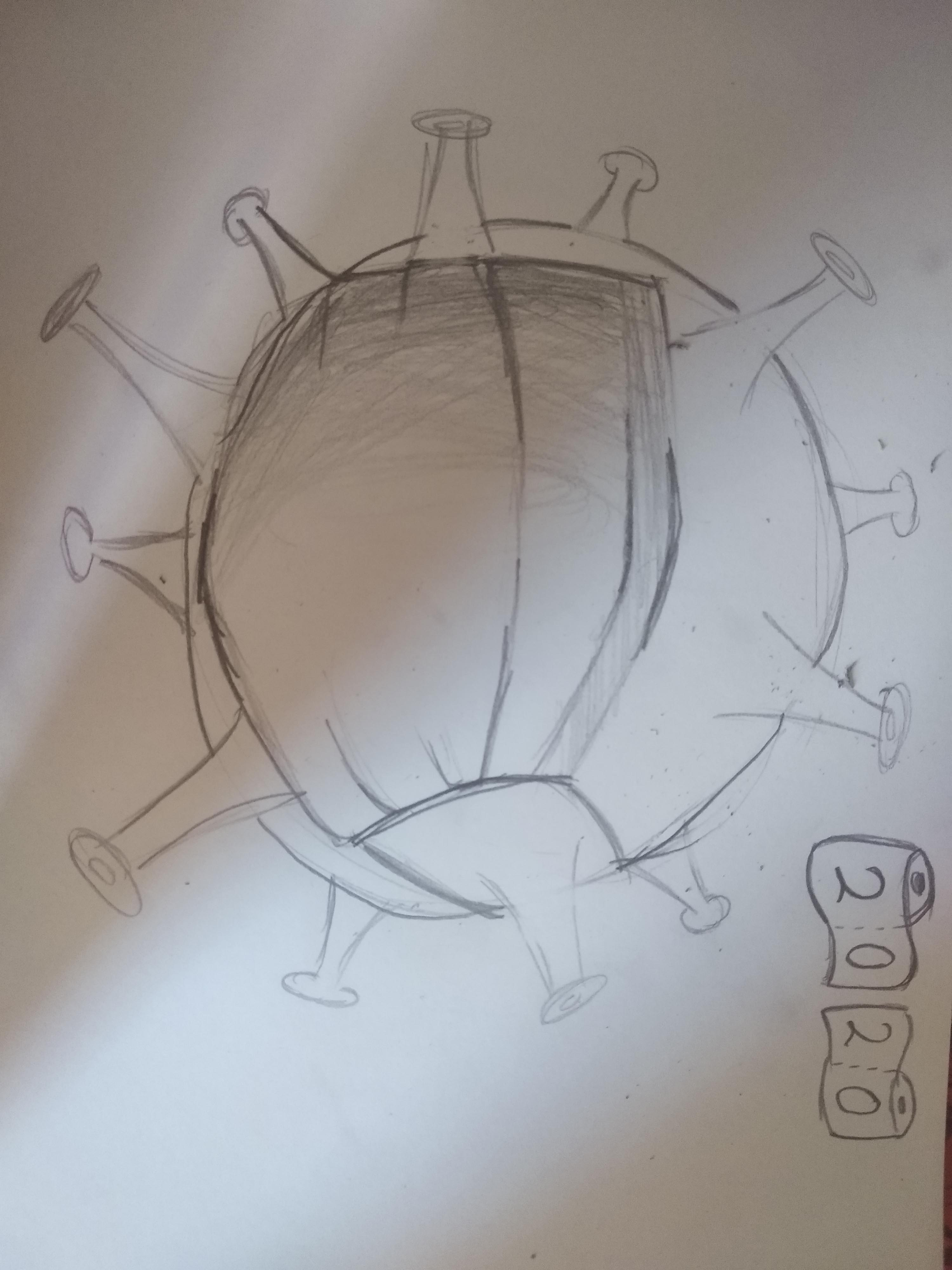 Οι μαθητές της Γ' Γυμνασίου εκφράζονται μέσω της τέχνης κατά τη περίοδο του εγκλεισμού-12