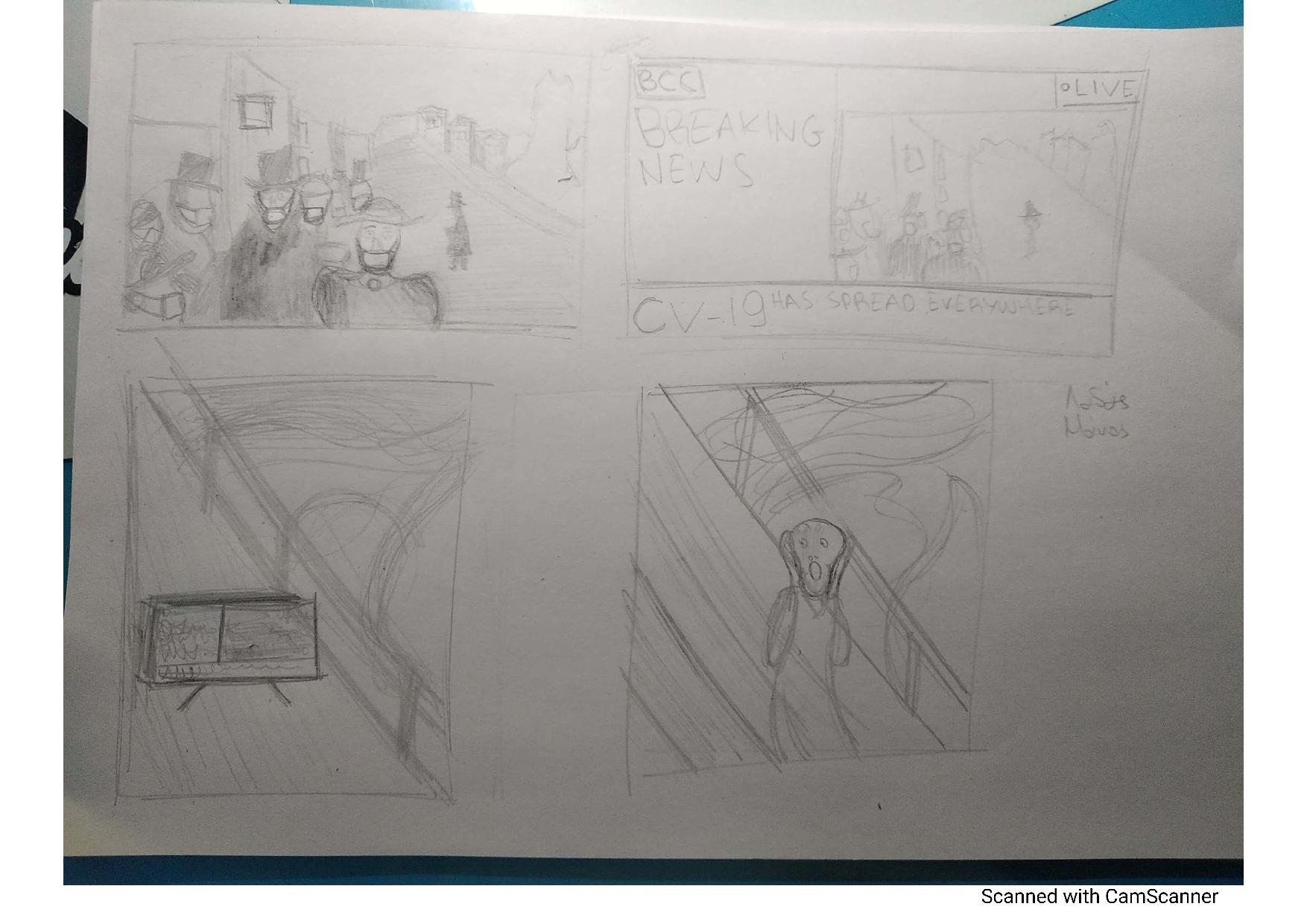 Οι μαθητές της Γ' Γυμνασίου εκφράζονται μέσω της τέχνης κατά τη περίοδο του εγκλεισμού-11
