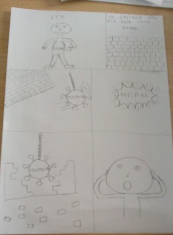 Οι μαθητές της Γ' Γυμνασίου εκφράζονται μέσω της τέχνης κατά τη περίοδο του εγκλεισμού-13