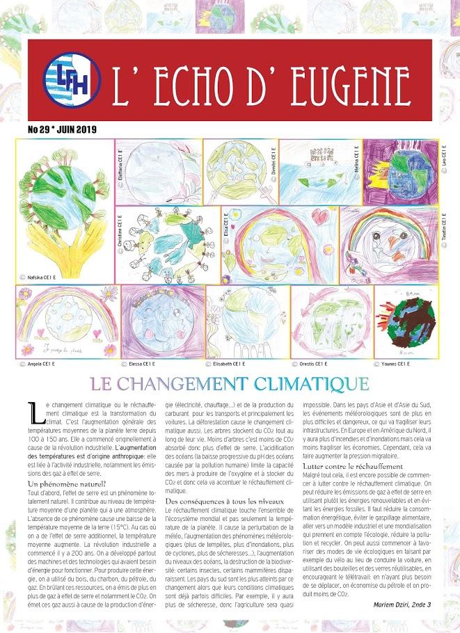 Echo d'Eugène numéro 29 (Juin 2019)-0